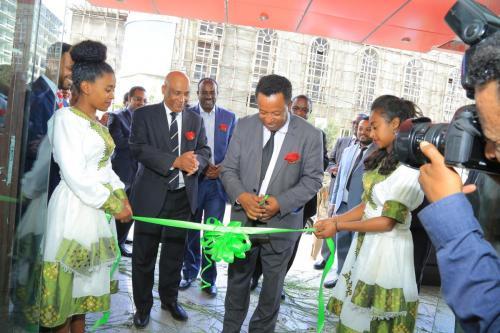 Bole Medhanialem Branch Inauguration